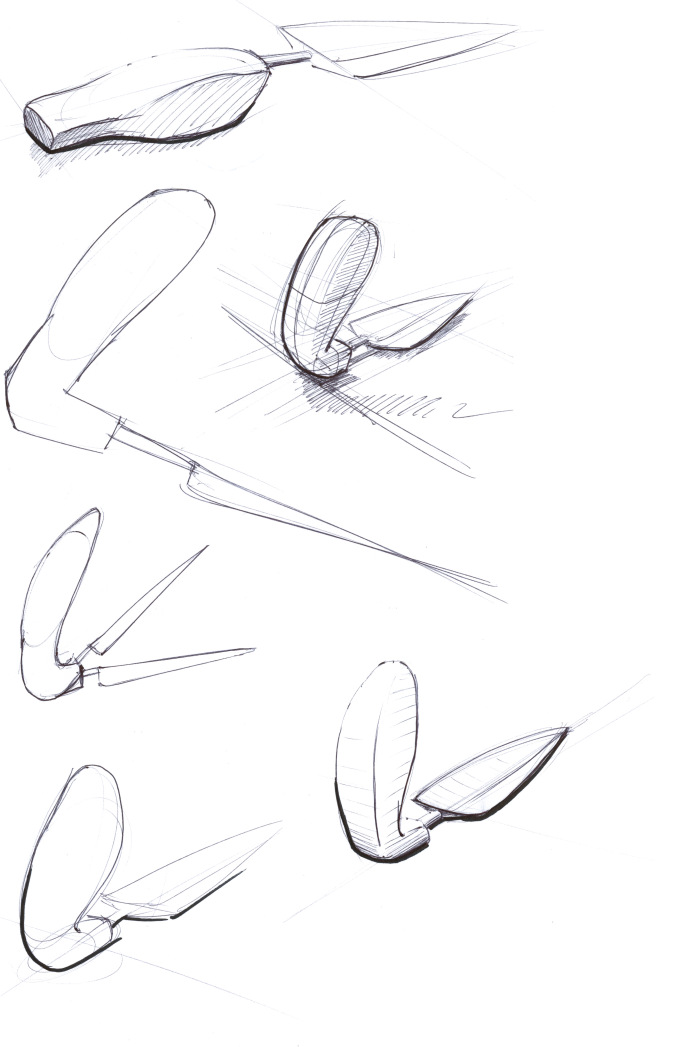 Garden Tools_handle-sketches