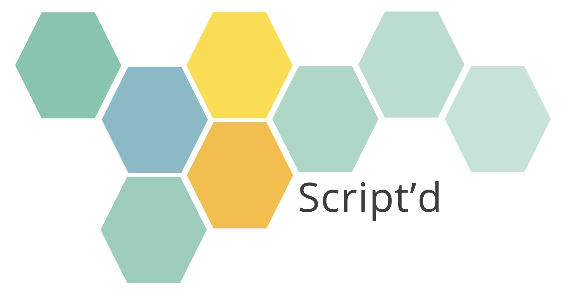 Script'd Logo